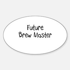 Future Brew Master Oval Decal