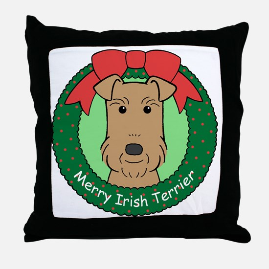 Unique Irish terrier Throw Pillow