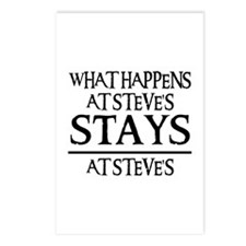 STAYS AT STEVE'S Postcards (Package of 8)