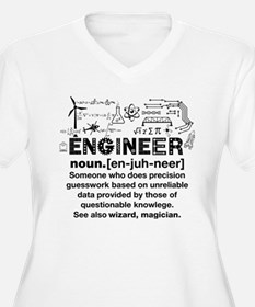 Engineer Funny Definition Plus Size T-Shirt