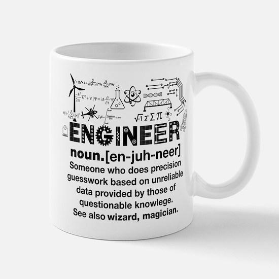 Engineer Funny Definition Mugs