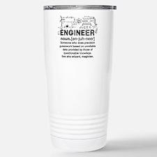 Engineer Funny Definiti Travel Mug