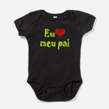 Unique I love mommy airplane Baby Bodysuit