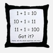 2-Got it Throw Pillow