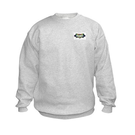 Bushwick (White) Kids Sweatshirt
