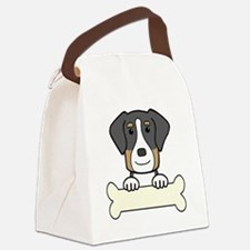Unique Greater swiss mountain dog Canvas Lunch Bag