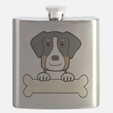 Unique Greater swiss mountain dog Flask