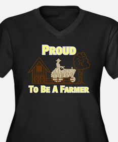 Proud To Be A Farmer Plus Size T-Shirt