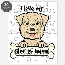 Funny Glen of imaal terrier Puzzle