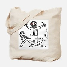 Evil Dentist (with patient) Tote Bag