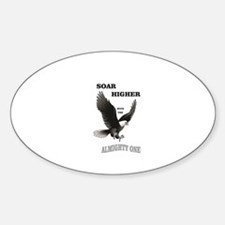 almighty soar highest Decal