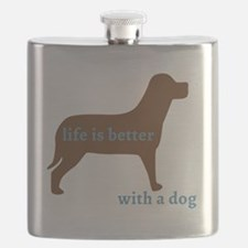 Funny I love dogs Flask