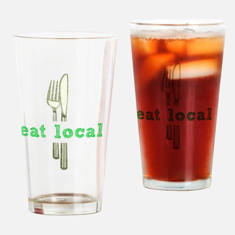 Cute Artisan foods Drinking Glass
