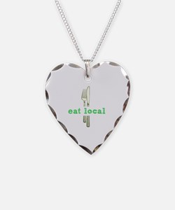 Cute Eat local Necklace