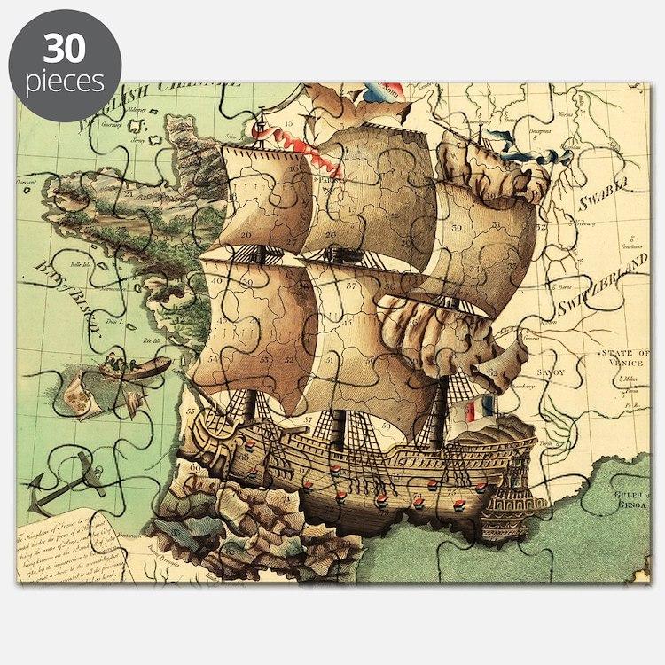 Ancient Map Puzzle