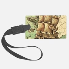Ancient Map Luggage Tag