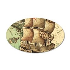 Ancient Map Wall Decal
