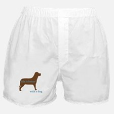 Life is Better with a Dog Boxer Shorts