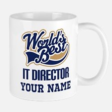 IT Director Personalized Gift Mugs