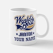 Janitor Personalized Gift Mugs