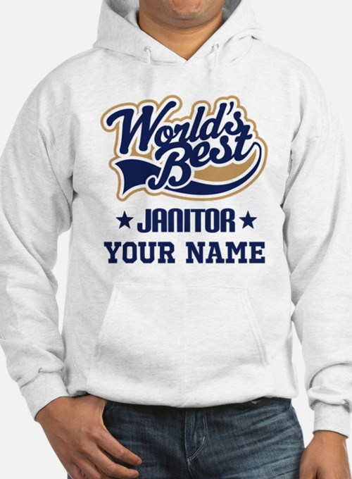 Janitor Personalized Gift Hoodie