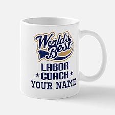 Labor Coach Personalized Gift Mugs