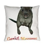 only want gerbils Everyday Pillow