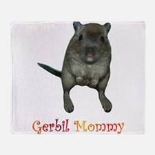 only want gerbils Throw Blanket