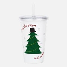 Tacky Christmas Acrylic Double-wall Tumbler