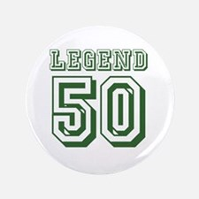 Cute 50th birthday for men Button