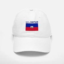 50 PERCENT HAITIAN Baseball Baseball Cap