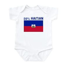 50 PERCENT HAITIAN Infant Bodysuit