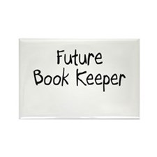 Future Book Keeper Rectangle Magnet