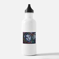 Graffiti Girl with Rai Water Bottle