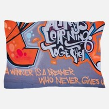 Always Learning Together Graffiti Pillow Case