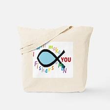 Cute Christ fish Tote Bag
