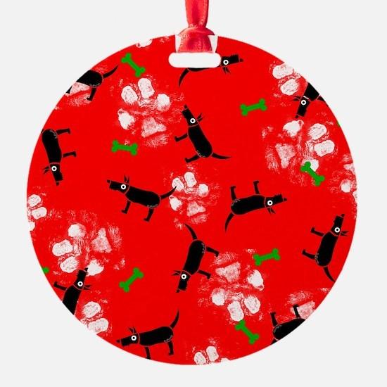 Cute Scotties christmas Ornament