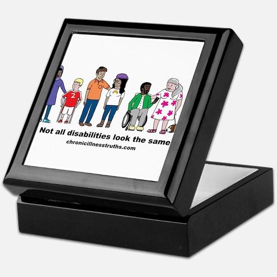 Not all disabilities... Keepsake Box