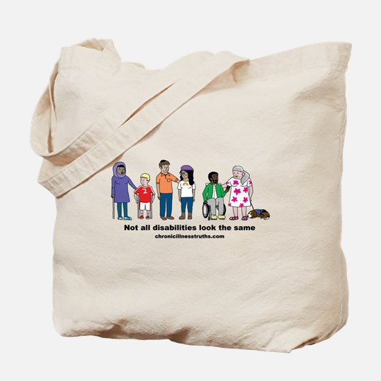 Not all disabilities... Tote Bag