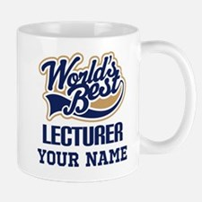Lecturer Personalized Gift Mugs