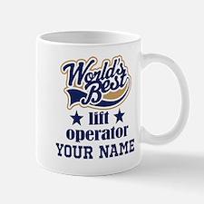 Lift Operator Personalized Gift Mugs