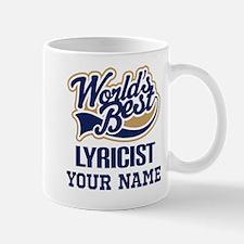 Lyricist Personalized Gift Mugs