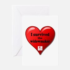 I Survived the Widowmaker Greeting Cards