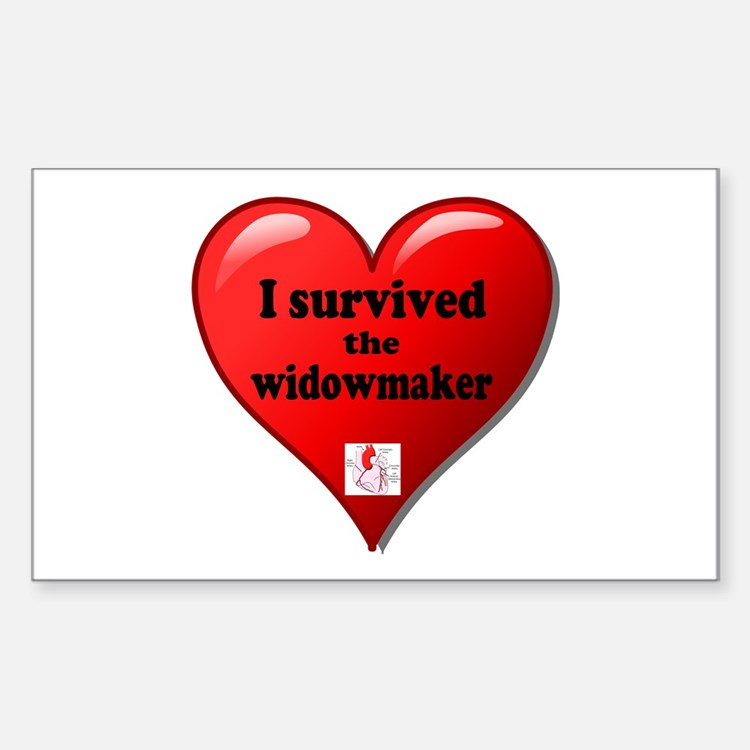 I Survived the Widowmaker Bumper Stickers