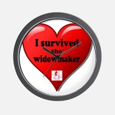 I Survived the Widowmaker Wall Clock