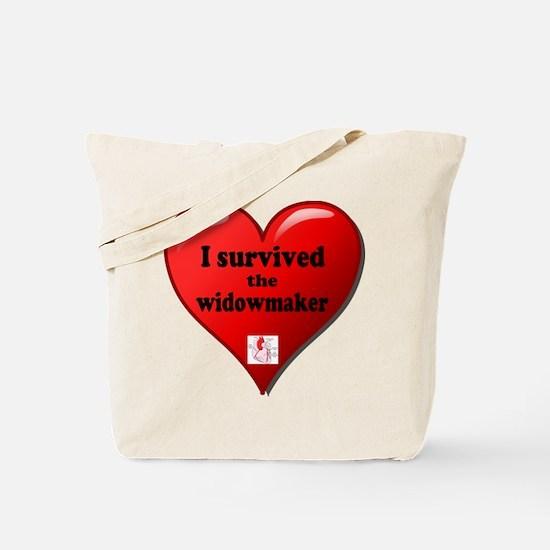 I Survived the Widowmaker Tote Bag