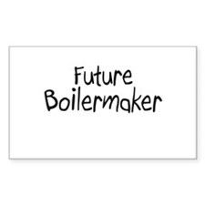 Future Boilermaker Rectangle Decal