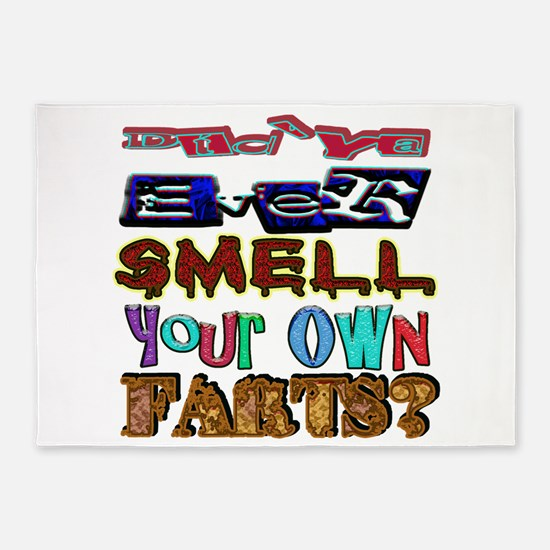 Ever Smell Farts 5'x7'area Rug
