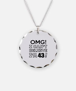 Omg I Can Not Believe I Am 4 Necklace