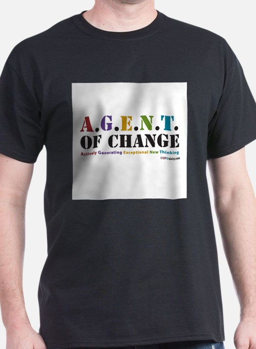 Agent of Change T-Shirt